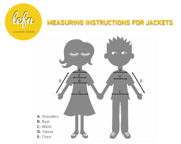 Measuring Instructions for Jacket